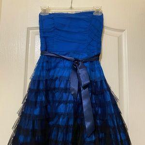 Strapless formal dress